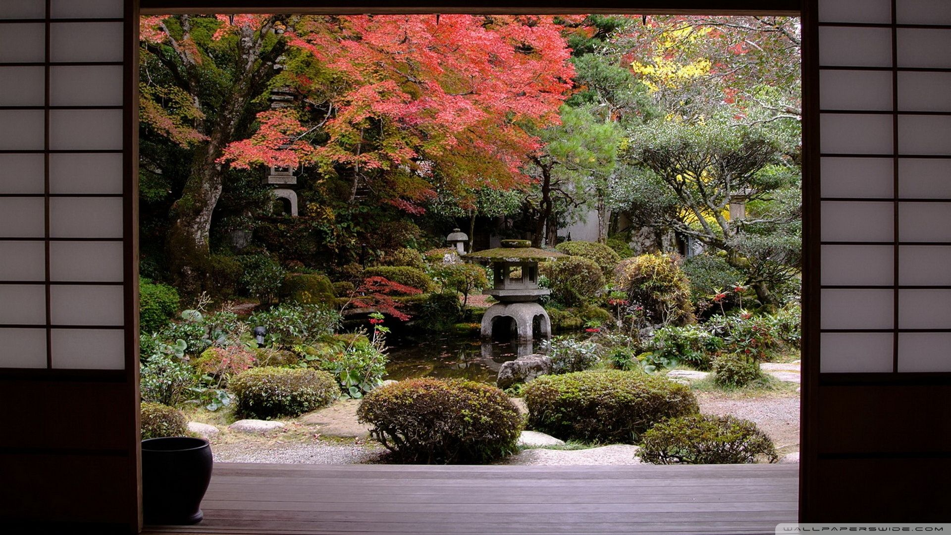 Japanese Garden Wallpaper Inspiration Design 1714526