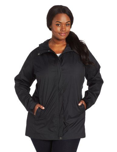 b67c6679041 Columbia Womens Splash A Little Rain Jacket Black 1X    Read more at the  image link. (This is an Amazon affiliate link)