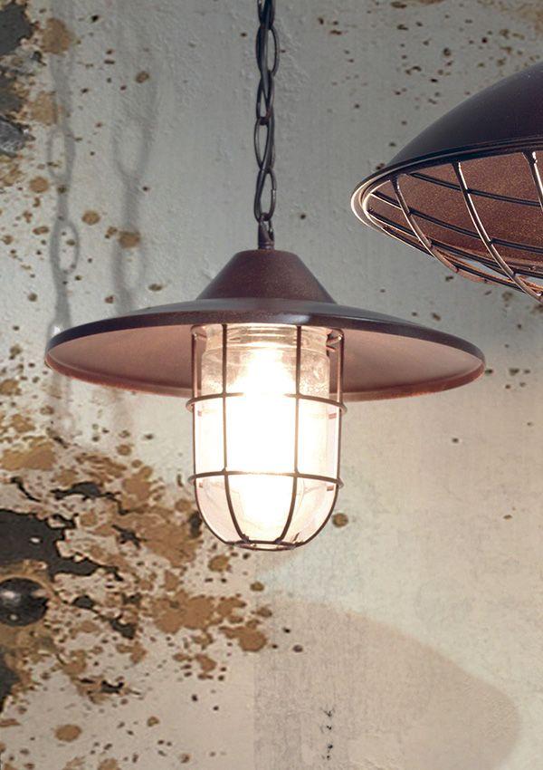 Luminaire Cocktail Scandinave #14: Suspension STAJNIA En Métal Rustique Et Verre. / De Chez Cocktail Scandinave  Mobilier U0026 Décoration