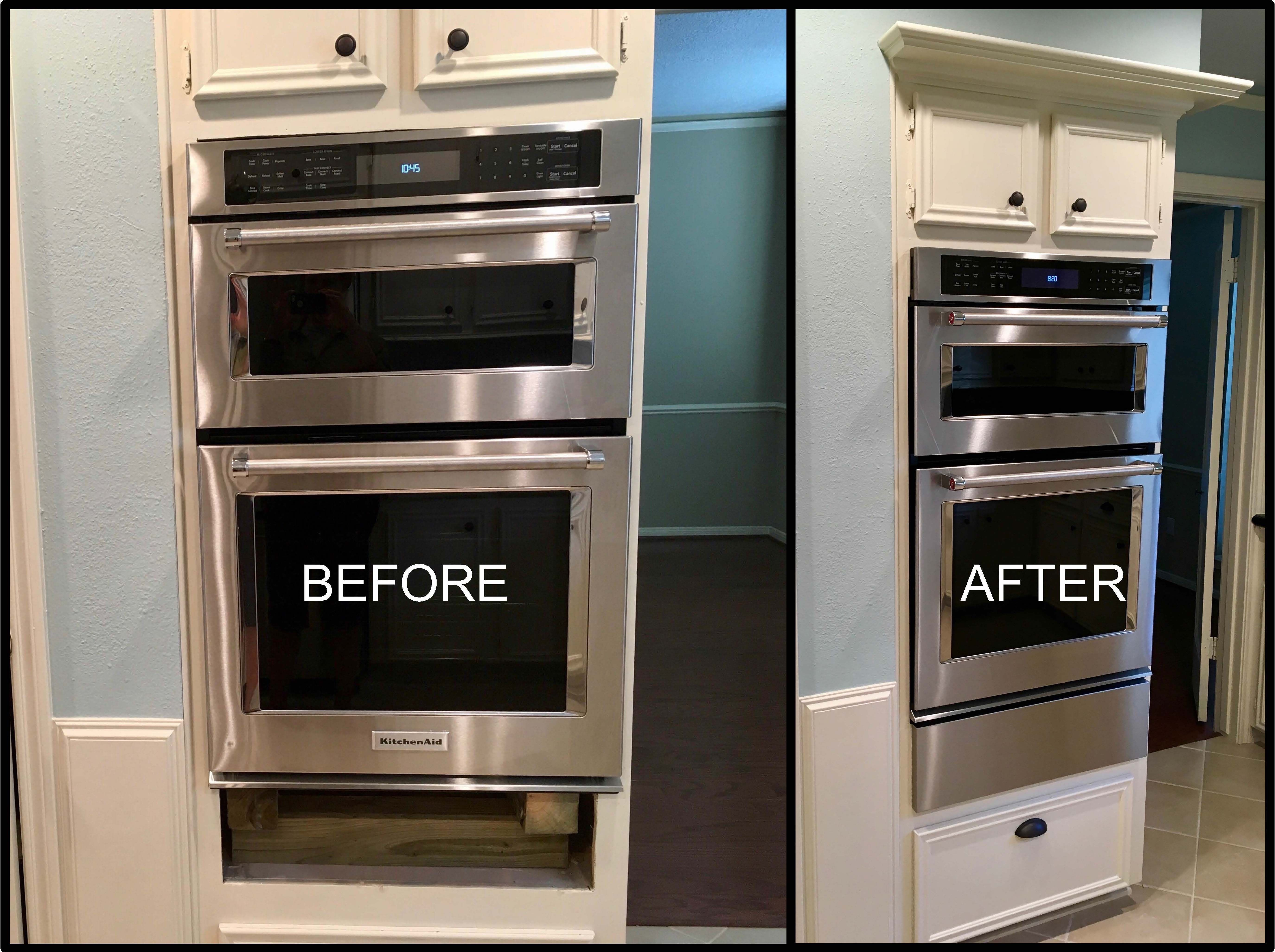 Wall Oven Filler Strip For A Kitchenaid Wall Oven Model