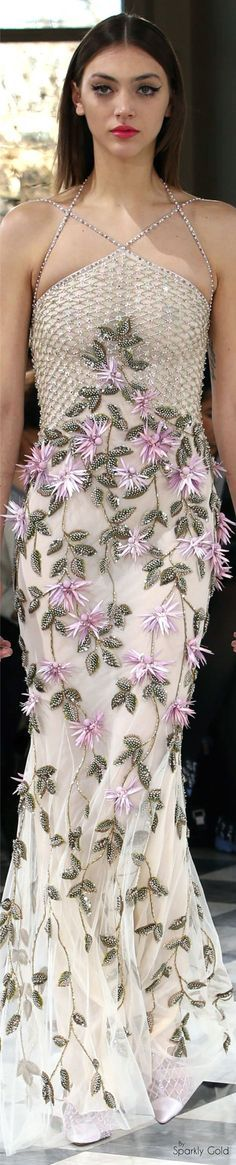 dress @roressclothes closet ideas women fashion outfit clothing style Georges Hobeika Spring 2016 Couture