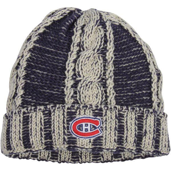 b542bfcc0f6dae ... low price montreal canadiens reebok womens cuffed knit hat navy 21.99  cb68b ef0e5 ...