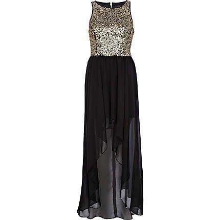 20++ Black dip hem maxi dress inspirations