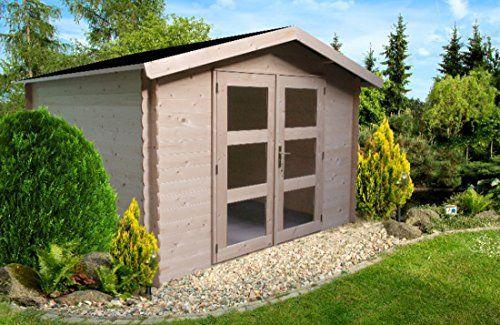 Alpholz Gerätehaus Holz mit Boden 270 x 210cm Gartenhaus