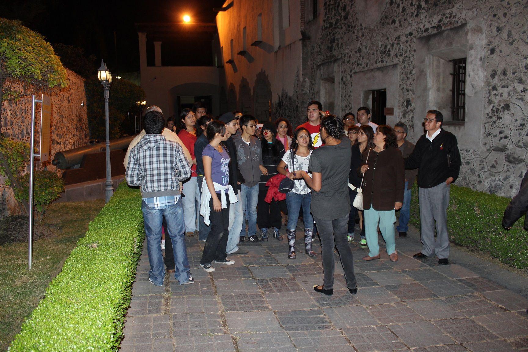 """Noche de Museos presenta a Triciclo Circus Band. """"Noche de Museos"""" en el  Museo de las Intervenciones. Foto: Dardané Pérez Romero / Secretaría de Cultura del GDF."""