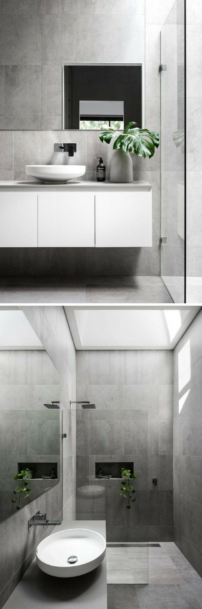 Panneaux Stratifies Salle De Bain Leroy Merlin ~ a little splash of greenery makes all the difference au toilette