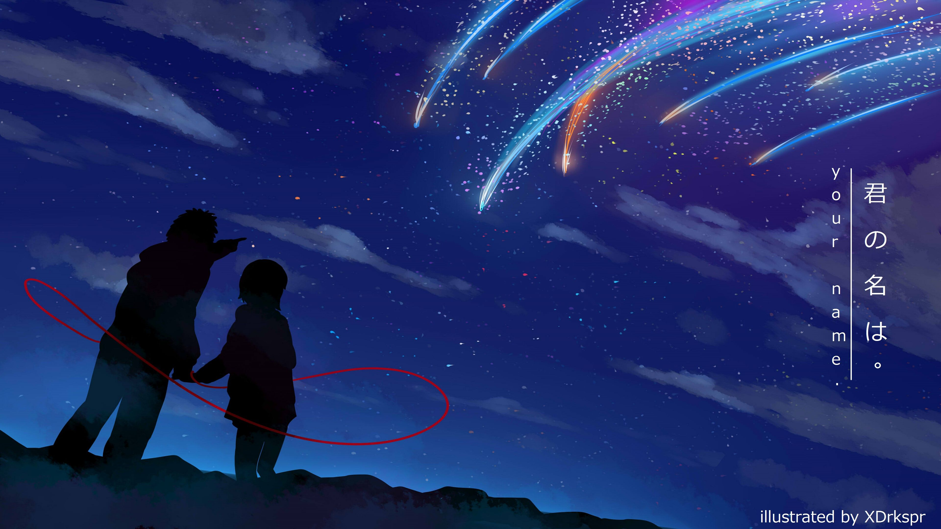Kimi no na wa your name live wallpaper 4k duration. Pin on Anime & Manga