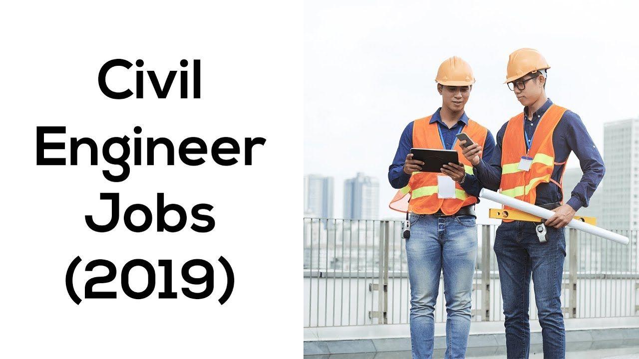 Civil engineer jobs 2019 top 5 places civil