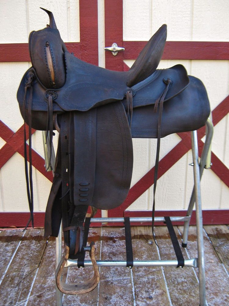 Clearance antique 145 western ranch highback stock