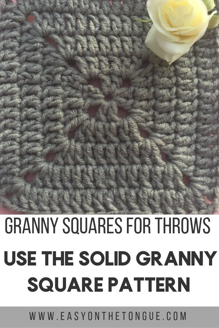 The most popular Granny Squares to use for Throws