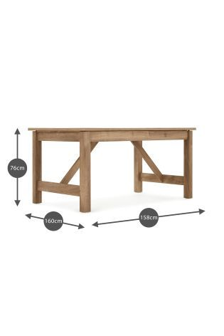 Buy Dalesford 6-8 Seater Extending Dining Table from the Next UK online shop