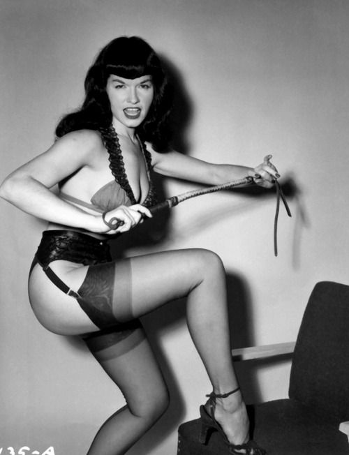 With you bettie page tumblr does