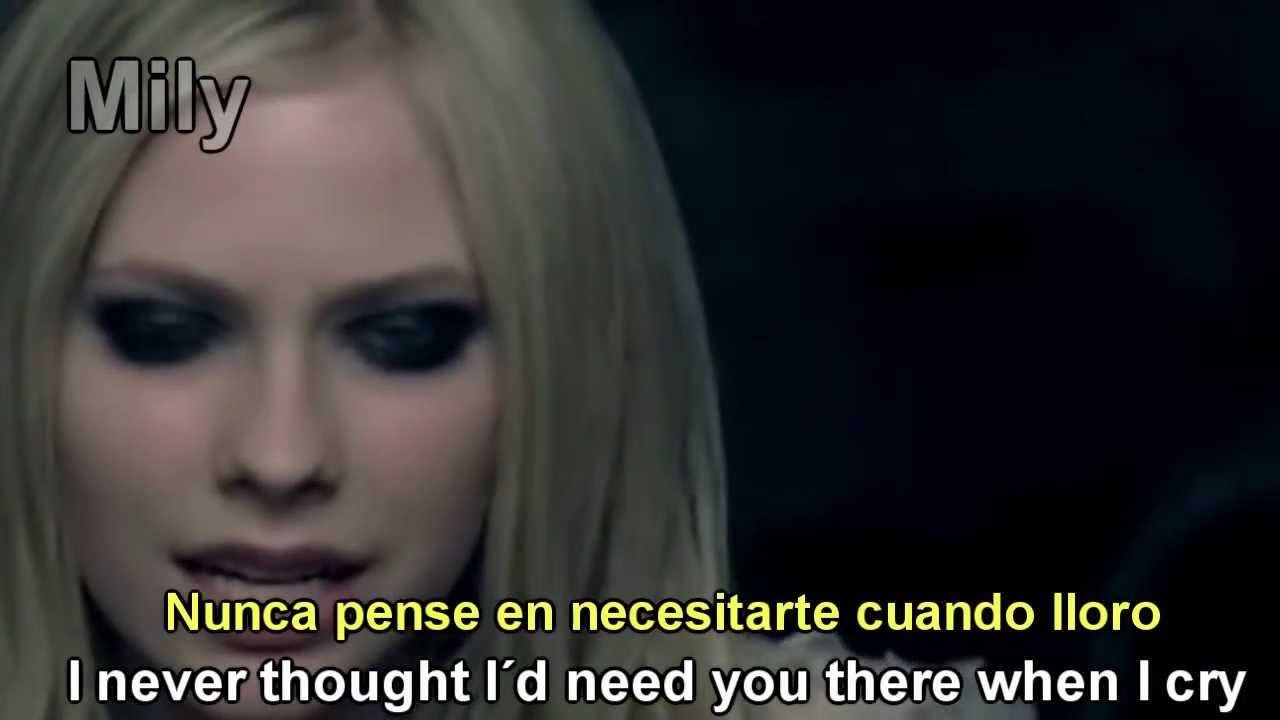 Avril Lavigne When Youre Gone Subtitulado Español Ingles