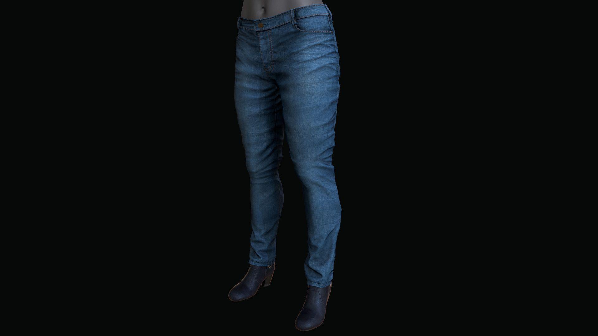 Pants Shoes 3D Model - 3D Model