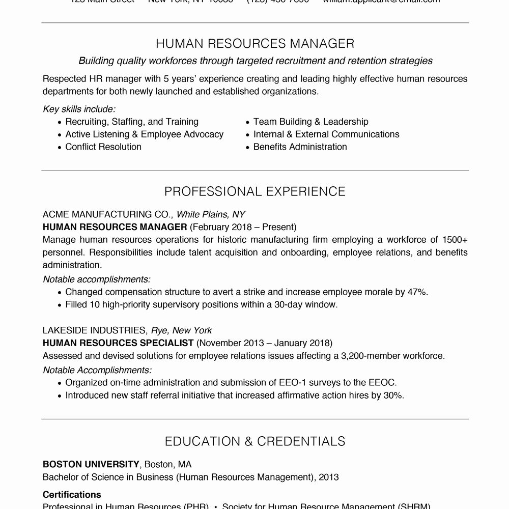 Sample Disaster Recovery Plan Template In 2020 Resume Skills