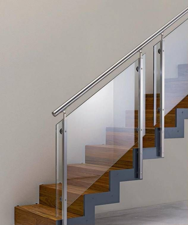 holz glas edelstahl treppe pinterest treppe treppengel nder und handlauf. Black Bedroom Furniture Sets. Home Design Ideas