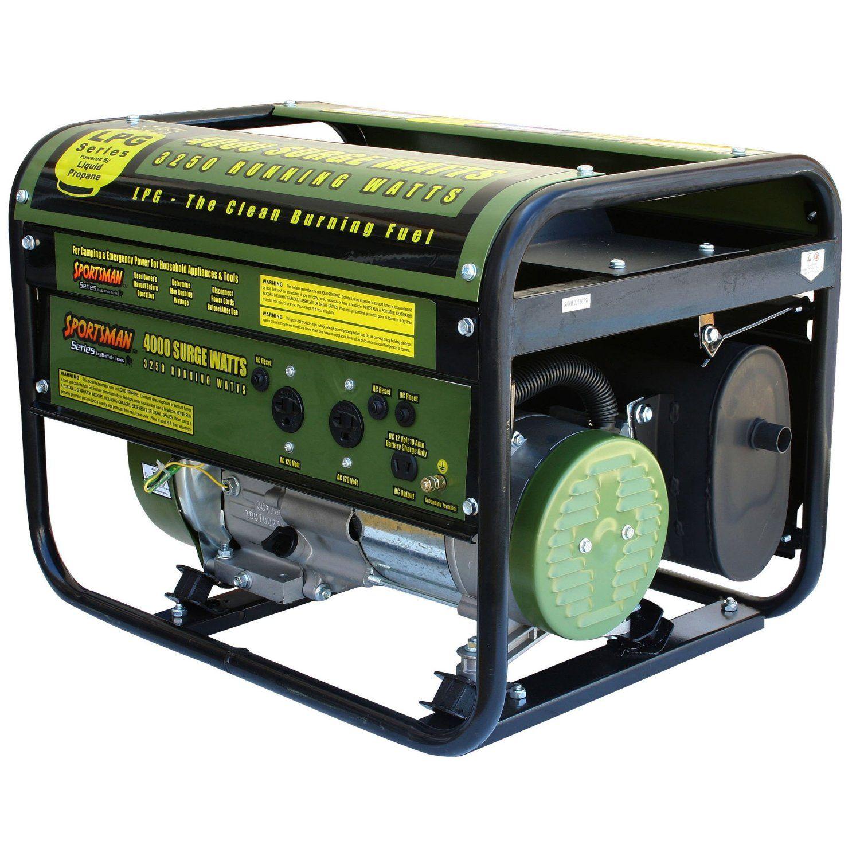 Sportsman Propane Powered Portable Generator Review