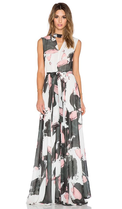 d58939d3685 TY-LR The Hall Dress in Brushstroke