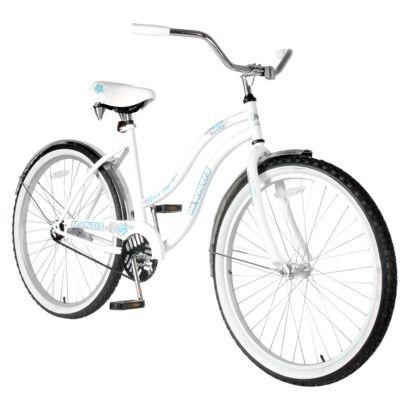 Mantis Women S Beach Hopper 26 Cruiser Bike White Opens In A New Window Bike Shop Cruiser Bike Bicycle