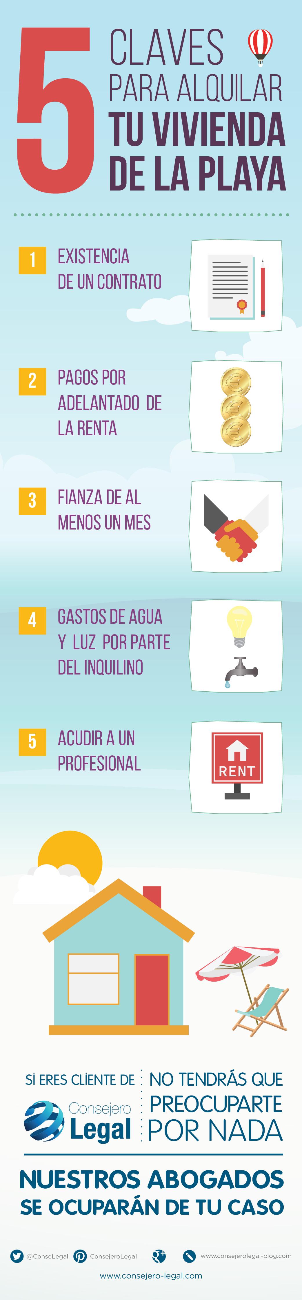 5 consejos para alquilar un piso infograf a consejero legal infograf as legales pinterest - Tramites legales para alquilar un piso ...