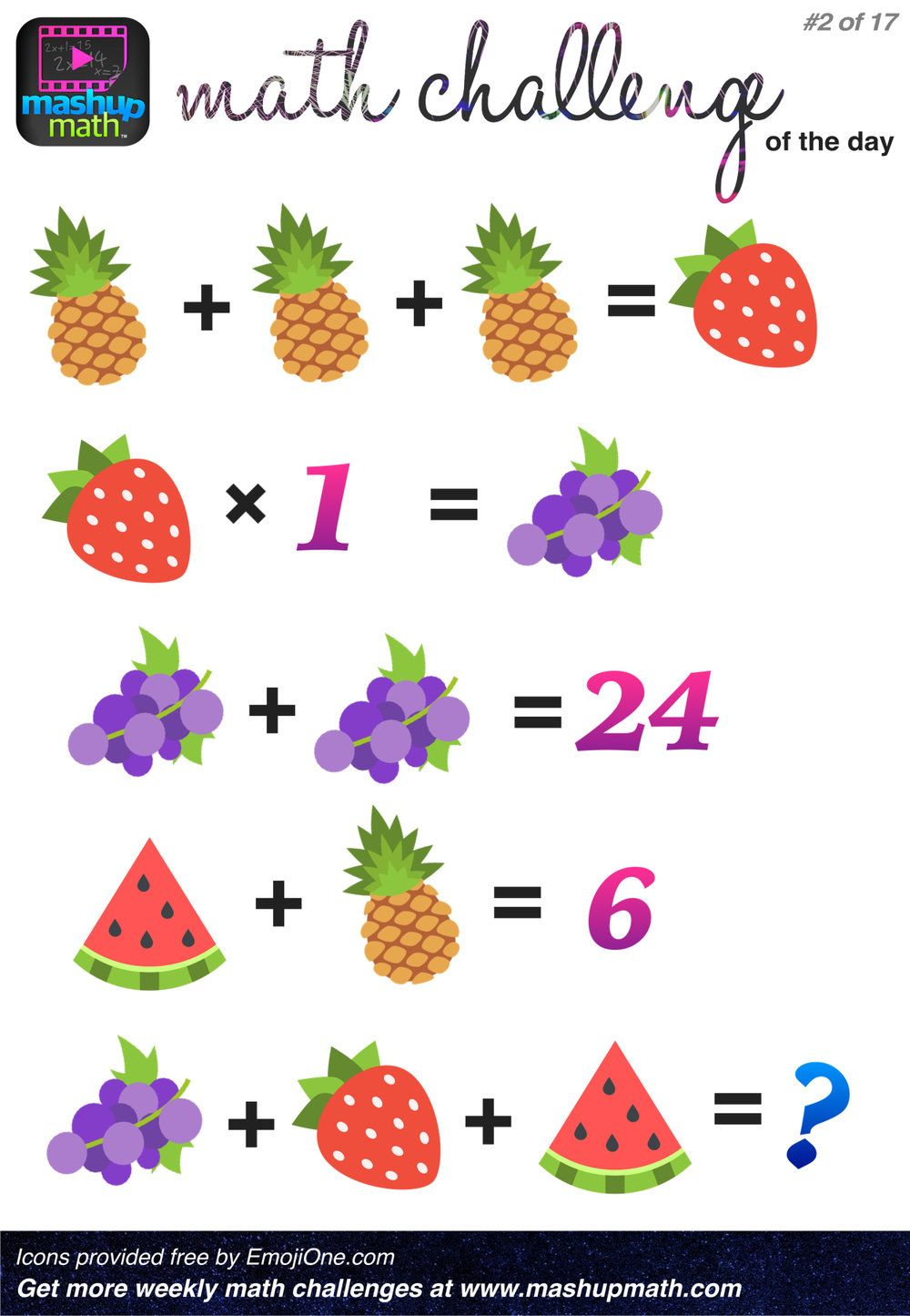 Are You Ready for 17 Awesome New Math Challenges? Math