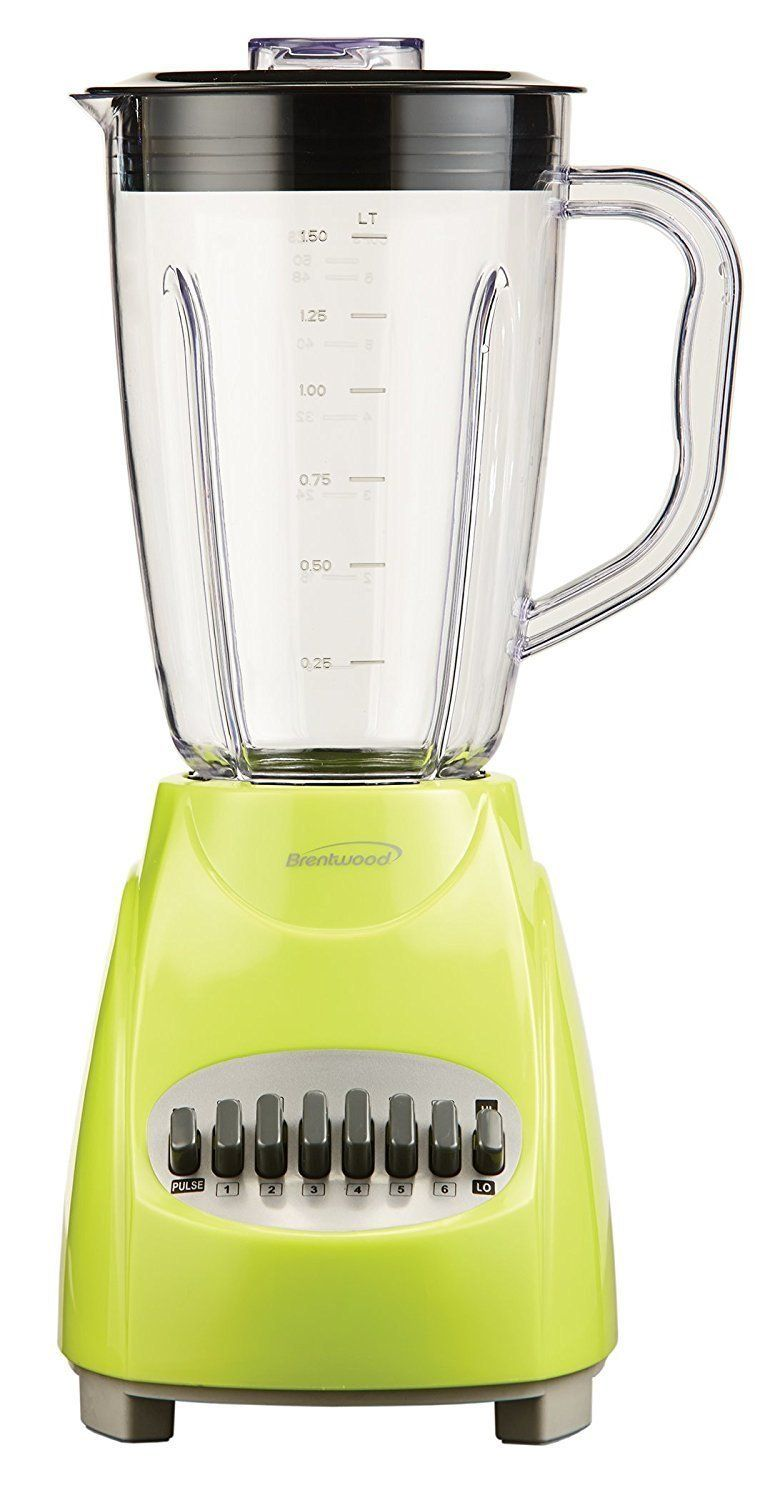Electric kitchen stoves  Blender Brentwood speed Personal Electric Kitchen Jar Blender Lime