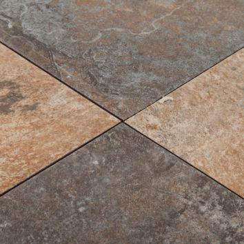 Laredo Multi Color Ceramic Tile Floor