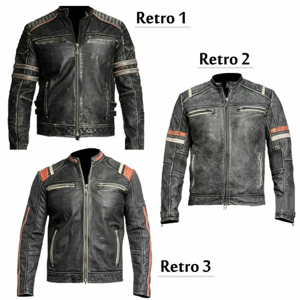 Retro Leather Jacket Leather Bikerjacket Mensjacket Retroleatherjacket Mensleather Black Leather Biker Jacket Distressed Leather Jacket Buy Leather Jacket [ 1000 x 1000 Pixel ]