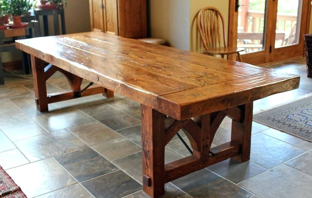 extra large farmhouse table large dining tables big wood dining