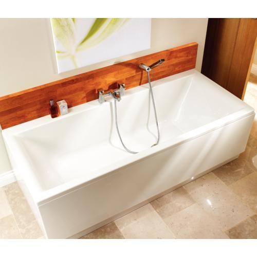 Bathroom Windows Wickes halo / belize double ended bath - bath tub units - baths