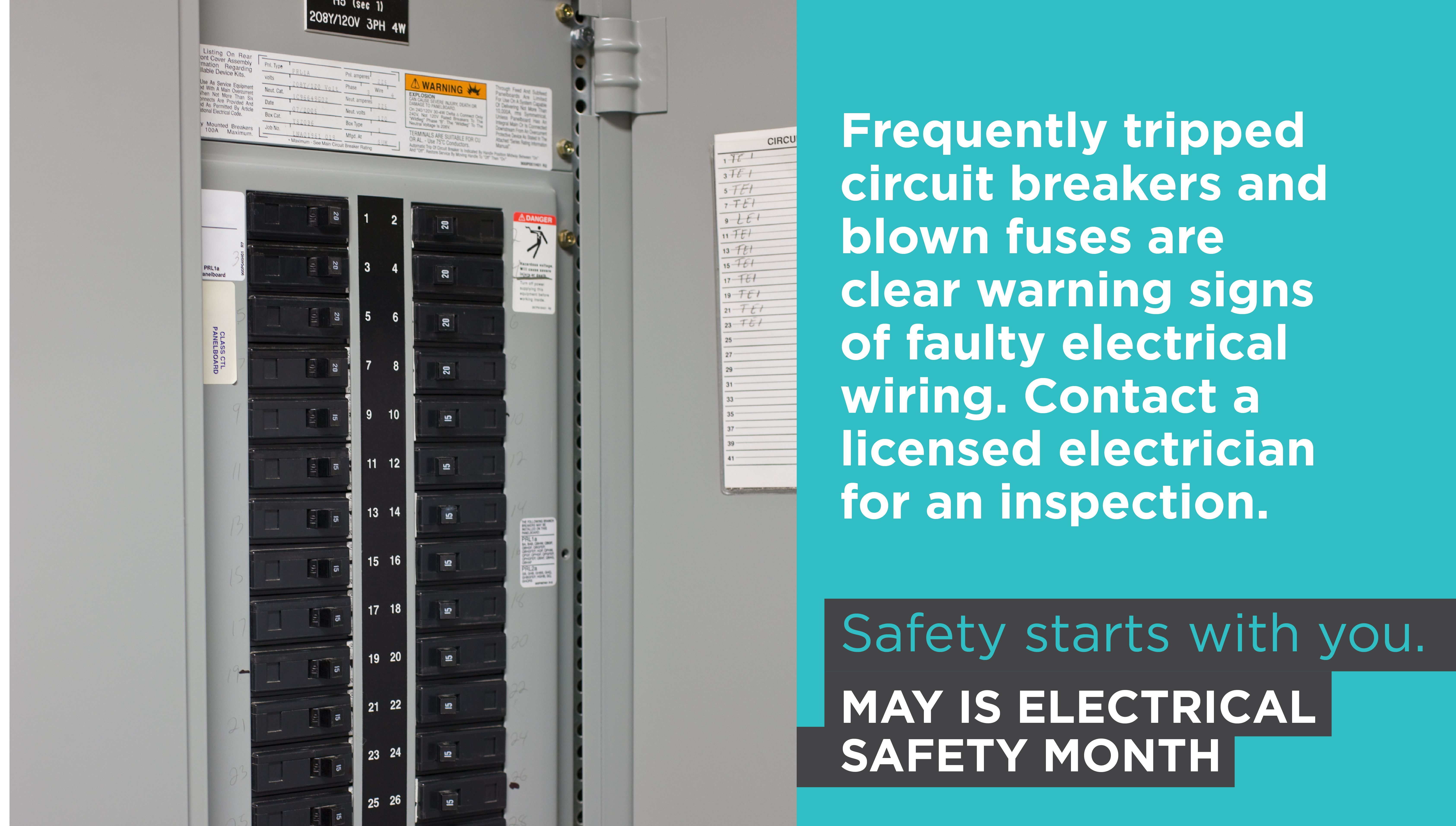 Signs Of Faulty Wiring Electrical Safety Locker Storage Electrician