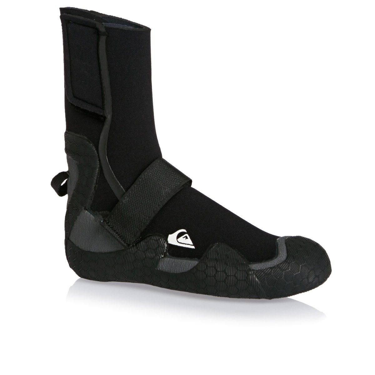 ebc9b57da Quiksilver Wetsuits - Quiksilver Boys Syncro 5mm Round Toe Wetsuit Boots -  Black