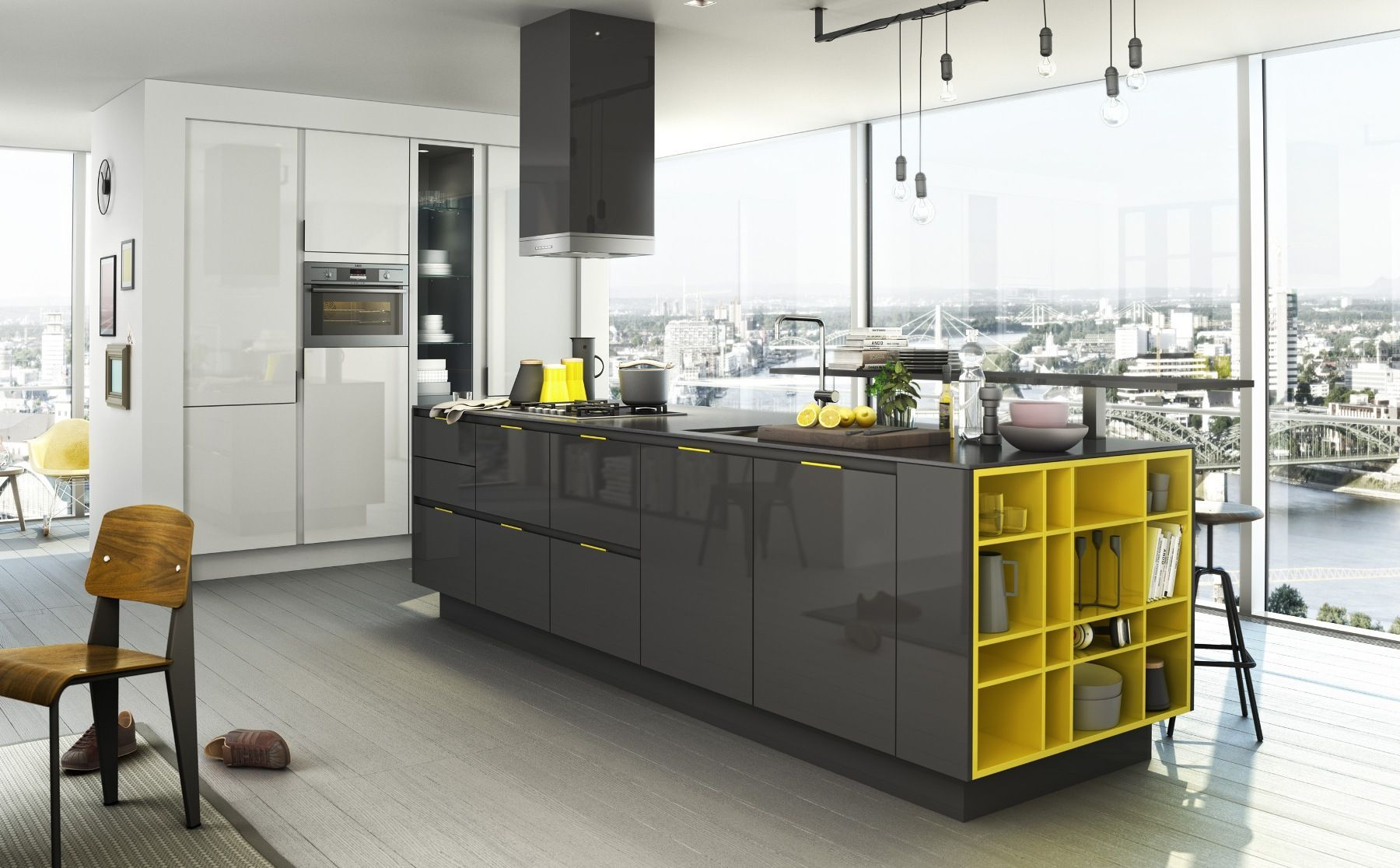 SieMatic S16. luxe design greeploze keuken  Interior design
