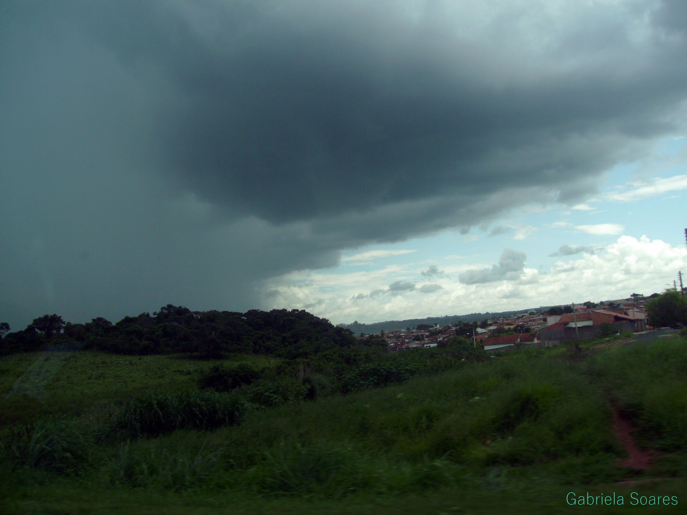 The rain is coming
