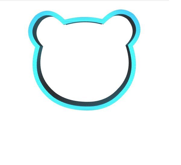 Panda Cookie Cutter Animal Cookie Cutter | AngelCakesEtc