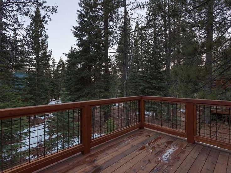 hog-wire-deck-railing | Home is where the ♥ is | Pinterest | Wire ...