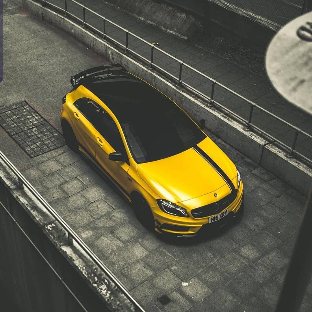 Mercedes Amg W177 A 45 Mercedes A45 Amg A45amg Yellow Amga45 Amgcar Amgaddict A45 Amg Mercedes A45 Amg Mercedes A45