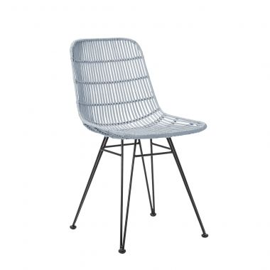 Http://www.vivalagoon.com/1913 9162 Thickbox_default/bloomingville Black  Rattan Dining Chair With Metal Frame