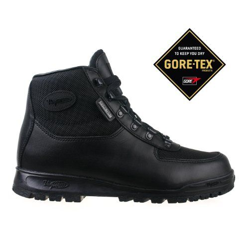 Vasque Mens Boots Gore Tex Black Skywalk Leather 7052