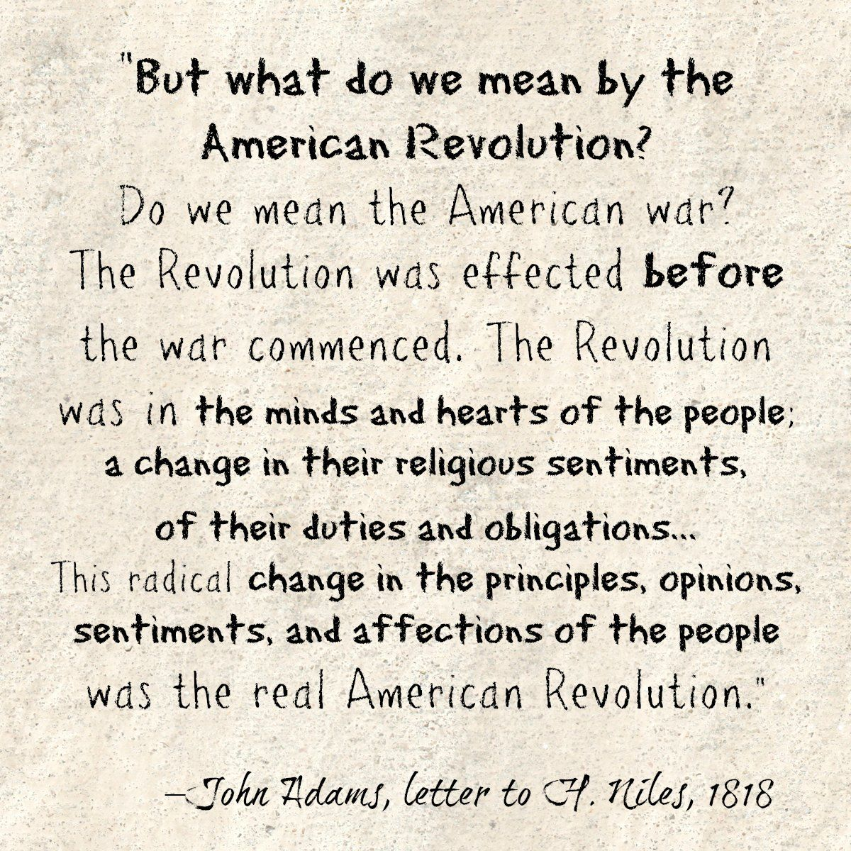 Founder S Quote Daily Founding Fathers American Revolution Sentimental