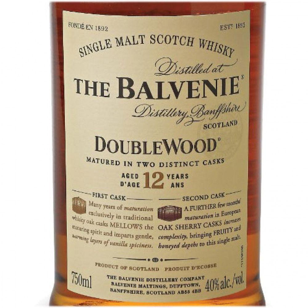 The Balvenie Doublewood 12 Year Single Malt Scotch Whisky - Caskers