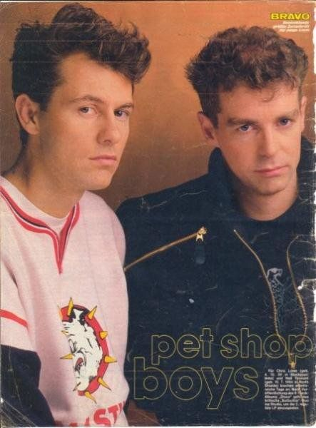 Pet Shop Boys Pet Shop Boys Chris Lowe Pet Shop