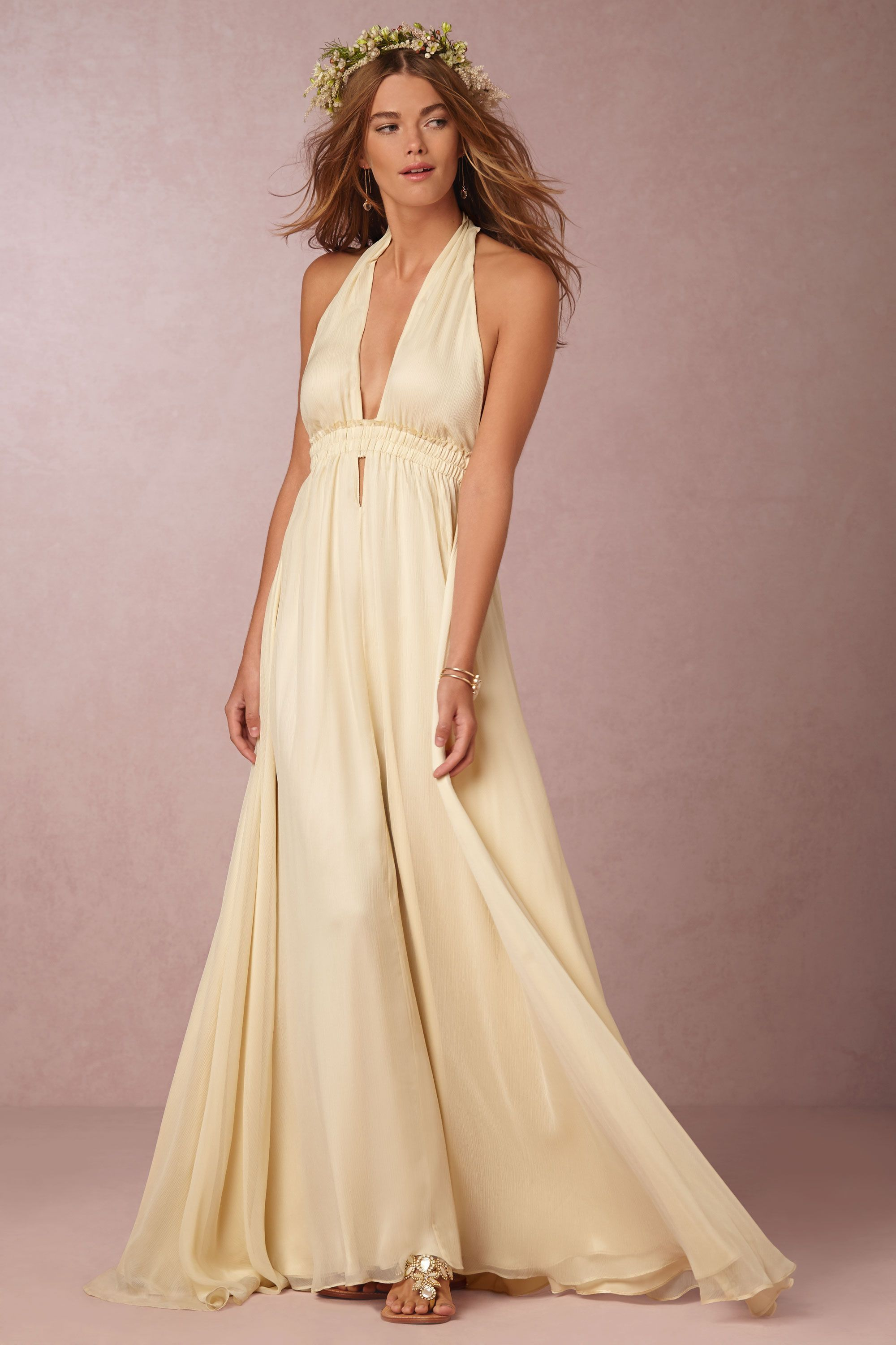 Wedding dresses for broad shoulders  Waverly Gown from BHLDN  Rella  Pinterest  Gowns and Event ideas