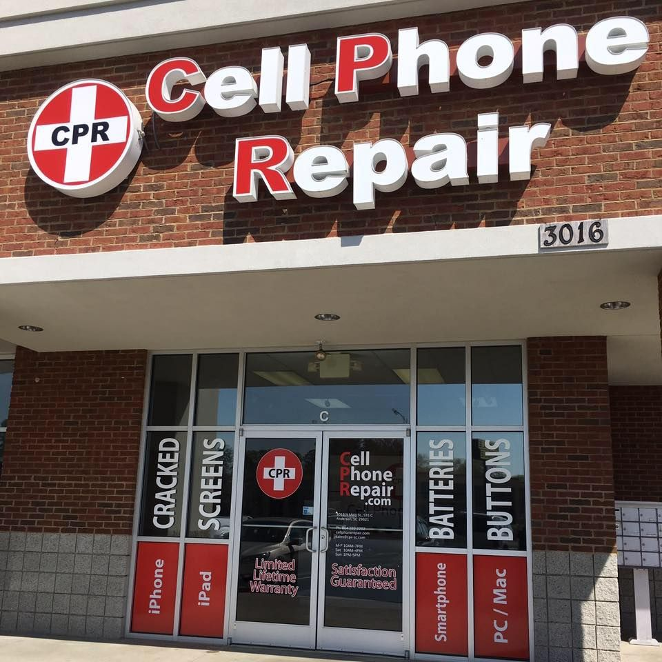 Tech repairs don't have to break the bank! CPR Anderson