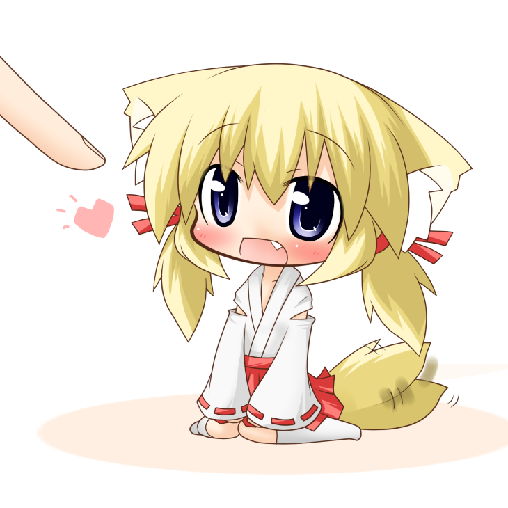 Fox Girl Chibi Anime, Fox girl, Anime art