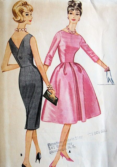 eea3170129 1960s straight skirt cocktail dress - Google Search