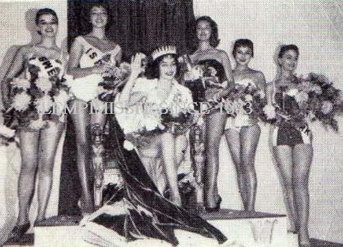 MISS WORLD GALLERIES, 1956. Miss German and her runners up
