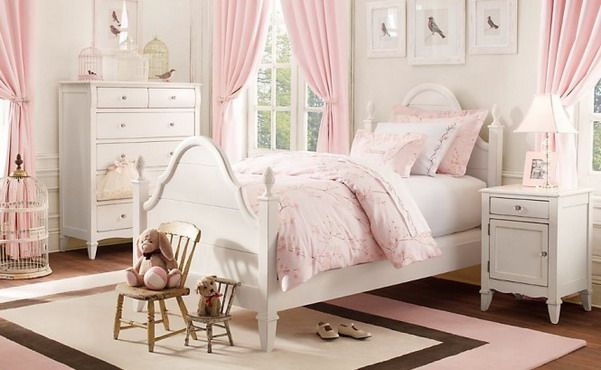 Pink and White Girls Bedroom Set - Top Home Design - 1516 | Home is ...