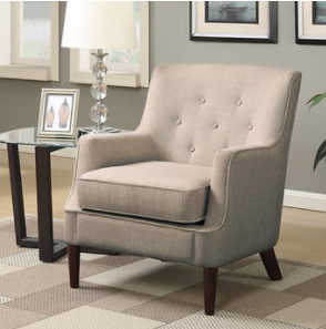Layne Fabric Accent Chair Accent Chairs Fabric Accent Chair