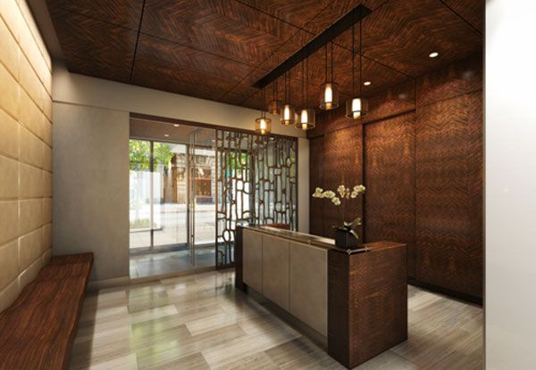 Luxury Apartment Building Lobby With Apartment Amenities Beautiful  Contemporary Lobby In The Citizen